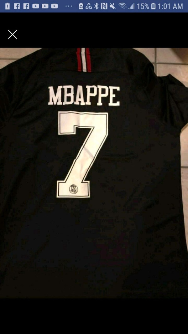 9d29381760f Used PSG Mbappe jersey for sale in Clifton - letgo