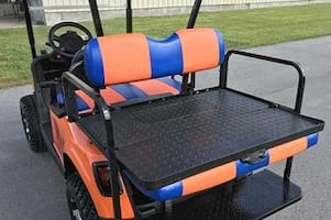 E/z/g/o Electric RXV Golf Cart In Stock & ROAD MASTER