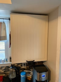 Kitchen cabinets and countertops and sink