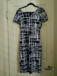 Black and white dress 2167 mi