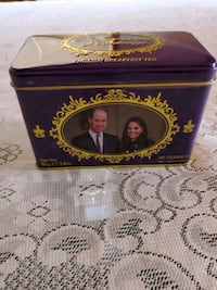 New English Teas Duke and Duchess of Cambridge Commemorative 40 Teabag Mississauga