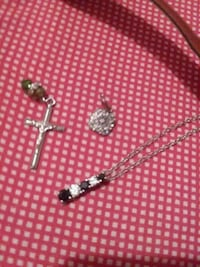 silver-colored necklace with pendant Dothan, 36303