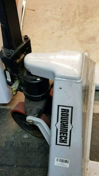 white and black air compressor