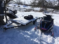 Polaris sled and trailer Innisfil, L9S