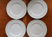 "4 pieces - Cream Petal W.H. Grindley - 4 plates 9"" Also availzble at $15 each: Oval Serving Platters - 12"" Serving Bowls - 8""  Pick-up in Newmarket  Newmarket"