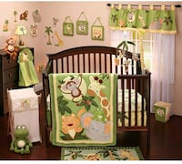 Nojo Jungle 9pc nursery set 407 mi
