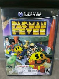 Game cube Pac-man Fever