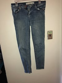 Blue denim straight-cut jeans Greenville, 27858