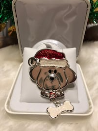 Adorable! Cute! Doggy Christmas Pin Gainesville, 20155