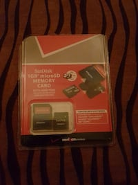1GB SanDisk Micro SD Memory Card in blister pack