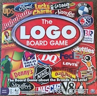 The Logo Board Game By Spin master Games Ages 12+ Bensalem, 19020