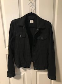 GAP black jean jacket