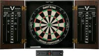 Viper Vault Cabinet & Shot King Sisal/Bristle Dartboard (NEW) London, N6B 3L5