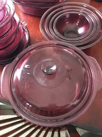 Full set of purple Pyrex dishware Albuquerque, 87114