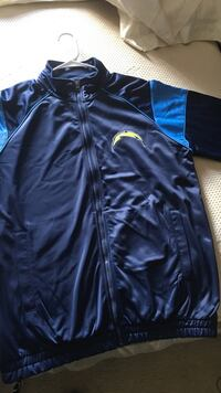 blue San Diego Chargers jacket