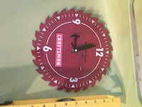 Metal Craftsman Saw Clock Northport, 35476