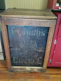Antique coffee bin 69 km