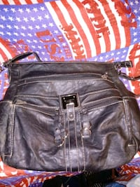 black leather 2-way bag St. Peters, 63376