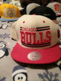 white and red Chicago Bulls cap Marion, 52302