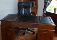 Ethan Allen desk with two matching bookcases Freehold