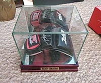 Randy Couture Sig/glass case/dna