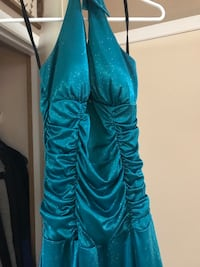 Aqua Blue Glistening prom dress Vancouver, 98683