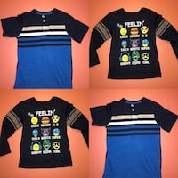 Children's Boys Navy Blue T-shirt  SZ T6 - 7 Las Vegas, 89123