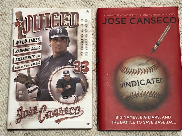 Jose Canseco autobiographies