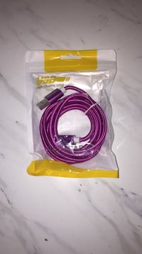 2 METRE LONG IPHONE CHARGER BRAND NEW