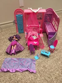 Barbie doll  house princess and the pop star playset Niagara Falls, L2H 1X3