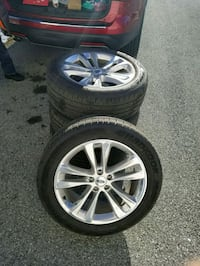 """Brand New 20"""" Alloy Wheels and Tires Charles Town, 25414"""