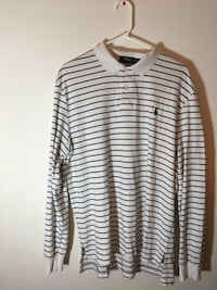 white and black striped long-sleeved shirt Annandale, 22003