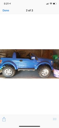 Blue and black ride on toy car Buffalo, 14210