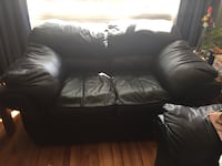 Black couch and loveseat Colorado Springs, 80909