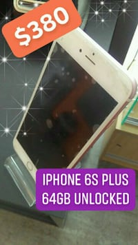 Iphone 6s plus 64gb unlocked Orlando, 32825