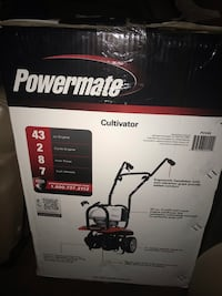 Power made cultivator Charlotte, 28208