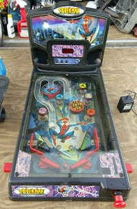 Spiderman pinball machine with legs included Halethorpe, 21227