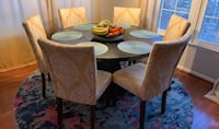 Solid wood dinning chairs Burke