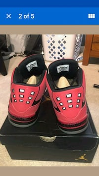 pair of red-and-black Air Jordan shoes Hilo, 96720