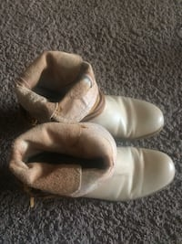 pair of white leather shoes Edmonton, T5T