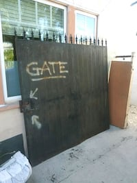Metal 2 DOOR entry GATE ONLY TODAY San Diego, 92115