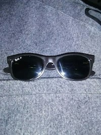 black framed Ray-Ban wayfarer sunglasses Edmonton, T5J 5H7