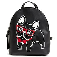 **IMPORTED** Fancy French Bulldog Print Mini Backpack Vancouver