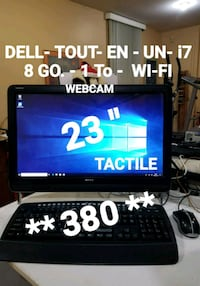 ORDINATEUR  ALL- IN- ONE -  i7- 8GO - 1To + WI-FI Laval, H7T 2E6