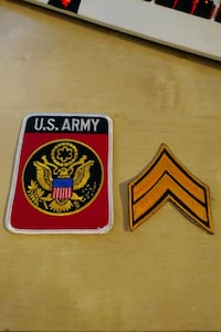 Replica Patches US Army Drammen, 3035