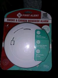 First Alert smoke and carbon monoxide detector