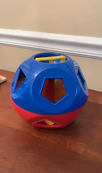 Tupperware shape sorter