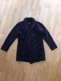 Lang lilla/navy Scotch and Soda cardigan Lørenskog, 1473