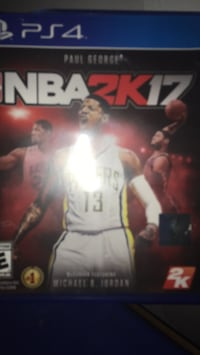 NBA 2K17 Xbox One game case Lansdale, 19446