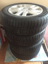 185/65/R15 Winter Tires With Rims  Guelph, N1H